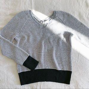 Calvin Klein knitted v neck cotton sweater